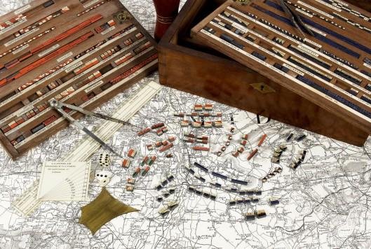 the prussian kriegspiel  hidden movement battle games with