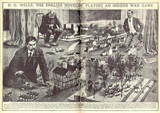 HG Wells the famous novelist used Britains toy naval cannon to knock down 54mm lead figures